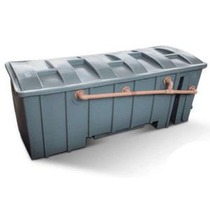 Separador de água e óleo industrial