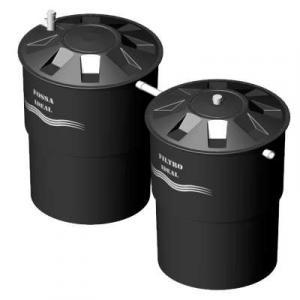 Tanque septico filtro biologico