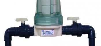 Dosador de cloro residencial